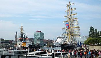 Fahrten und Törns zur Kieler Woche