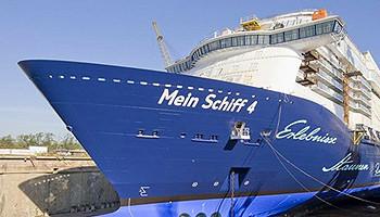 Mein Schiff 4-Taufe für alle! TUI Cruises lädt ein zum großen Public-Event