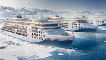 Taufe der HANSEATIC inspiration von Hapag-Lloyd Cruises in Hamburg