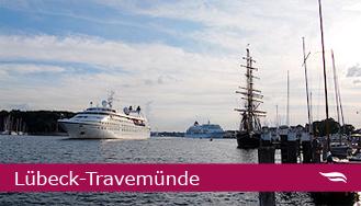 Schiffsanläufe in Lübeck-Travemünde © Melanie Kiel