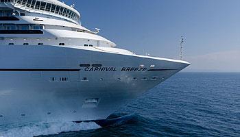 Auf Kreuzfart mit der Carnival Breeze © Carnival Cruise Lines