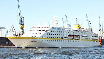 MS Hamburg zu Besuch in der Hansestadt © Melanie Kiel