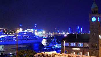 Die MS Europa zu Gast bei den Hamburg Cruise Days © Melanie Kiel