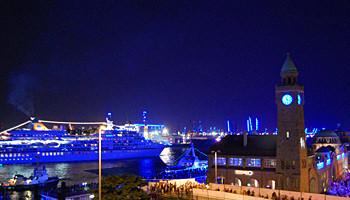 Ausfahrt der MS Europa zu den Cruise Days © Melanie Kiel