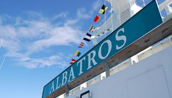 Die MS Albatros © Melanie Kiel