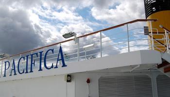 Schiffsbesichtigung auf der Costa Pacifica am Ostseekai in Kiel © Melanie Kiel