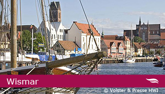 Der Wismar Hafen © Columbus Cruise Center Wismar GmbH