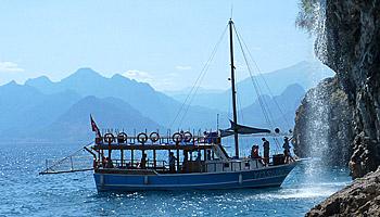 Bootsausflug in der Bucht von Antalya © Melanie Kiel