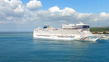 Die Norwegian Epic © Norwegian Cruise Line