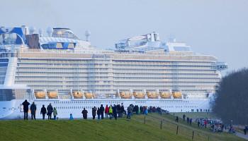 Die Anthem of the Seas © Meyer Werft