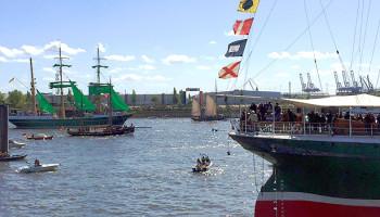 Auslaufparade des Hafengeburtstag Hamburg © Melanie Kiel