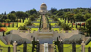 Weltkulturerbe: Die Baha'i Gärten in Haifa © goisrael.de
