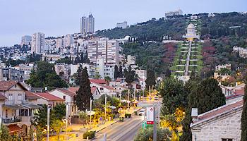 Die German Colony von Haifa © goisrael.de