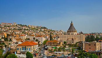 Die Stadt Nazareth © goisrael.de