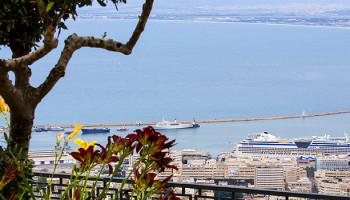 Blick auf den Hafen von Haifa © goisrael.de