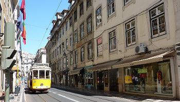 Die legendäre Straßenbahn 28 © Melanie Kiel