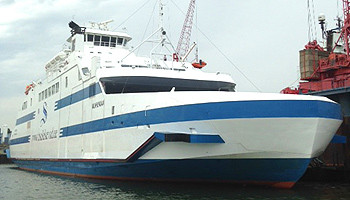 Die neue Elbefähre von Brunsbüttel nach Cuxhaven © M. Kiel