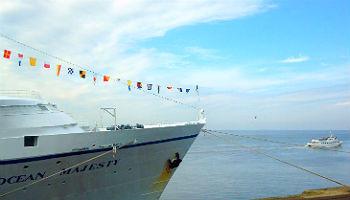 Die Ocean Majesty an der Columbuskaje Bremerhaven © Melanie Kiel