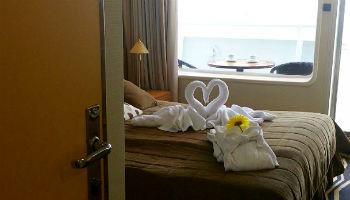 Balkonkabine auf der Ocean Majesty © Melanie Kiel