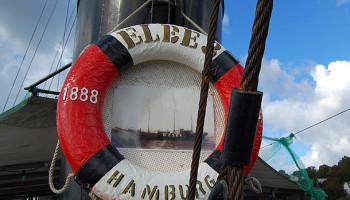Auf dem Feuerschiff Elbe 3 © Melanie Kiel