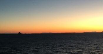 Sonnenaufgang über der Adria (c) J. Rollfinke