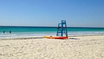Am Strand von Salalah © Melanie Kiel
