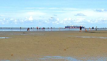 Watt erleben in Cuxhaven © Melanie Kiel
