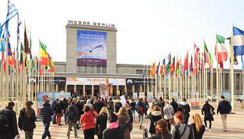 Eingang Nord, ITB Berlin 2015 © Messe Berlin
