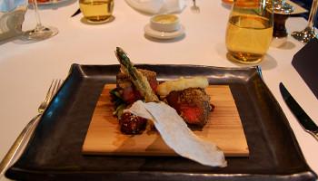 Rinderfilet in Wasabikruste im pan-asiatischen Spezialitätenrestaurant Tamarind © Melanie Kiel