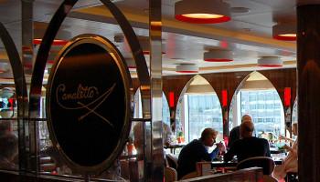 Ein Hauch von Italien verspricht das Restaurant Canaletto © Melanie Kiel