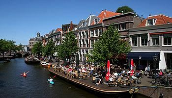 Die südholländische Stadt Leiden © NBTC