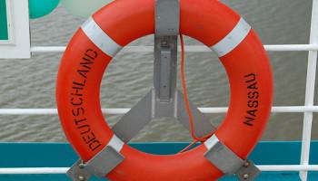 Rettungsring der MS Deutschland © Melanie Kiel