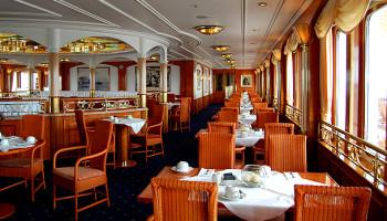 Das Lido-Restaurant auf dem gleichnamigen Deck © Melanie Kiel