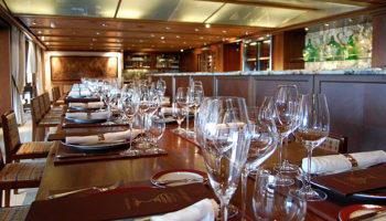 Kulinarische Events mit Weinverkostung finden im La Reserve auf Deck 12 statt © Melanie Kiel