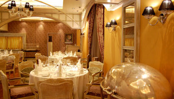 Feinste französische Kreationen bietet das Restaurant Jacques des französischen Meisterkochs Jacques Pépin auf Deck 5 © Melanie Kiel