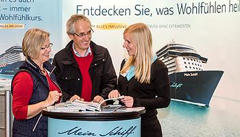 Trends aus der Kreuzfahrt auf der Reiselust © MESSE BREMEN / Jan Rathke