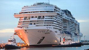 MSC Meraviglia in der Werft STX France in Saint Nazaire © MSC Cruises