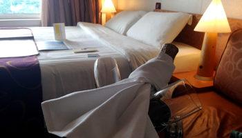 Die Kabinen sind gemütlich und komfortabel © Melanie Kiel