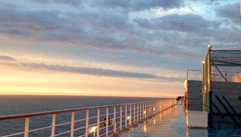 Wahrlich fabelhafte Ausblicke an Bord der Costa Favolosa © Melanie Kiel