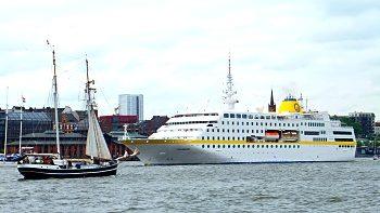 Die MS Hamburg © PLANTOURS Kreuzfahrten