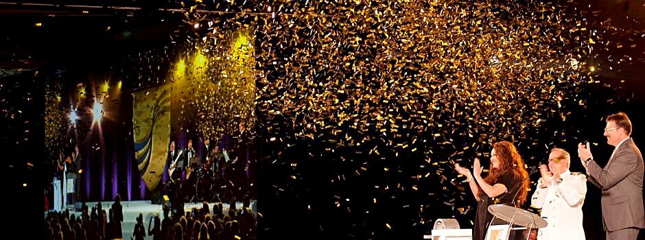 Taufzeremonie der Seabourn Encore © Seabourn