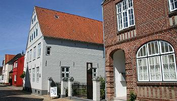 Theodor-Storm-Zentrum (Museum und Archiv), Wasserreihe, Husum © Tourismus und Stadtmarketing Husum GmbH