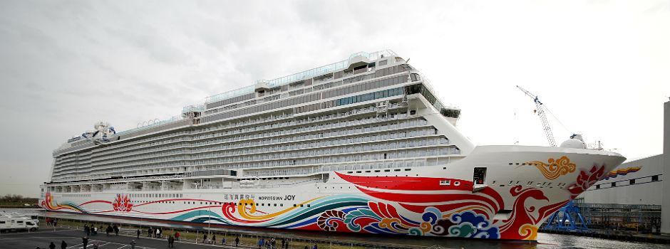 Die Norwegian Joy © Norwegian Cruise Line