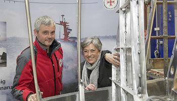 Kiellegung des Seenotrettungsbootes SRB 68 ©DGzRS/Martin Stöver