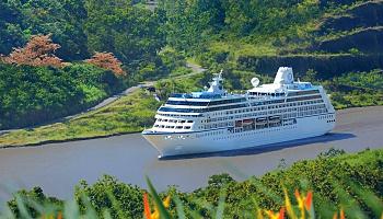 Im Panamakanal © Oceania Cruises