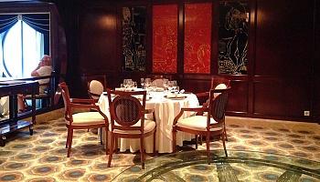 Das Ocean Liners Restaurant auf Deck 3 © Melanie Kiel