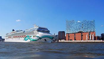 Die Norwegian Jade in Hamburg © Melanie Kiel