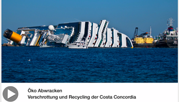 Recycling der Costa Concordia in Bildern © VDMA
