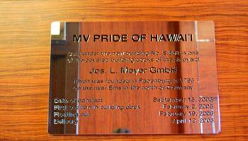 """Die Norwegian Jade wurde ursprünglich als """"Pride of Hawaii"""" auf der Meyer-Werft in Papenburg gebaut © Melanie Kiel"""