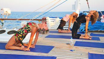Yoga-Kreuzfahrten © Star Clippers